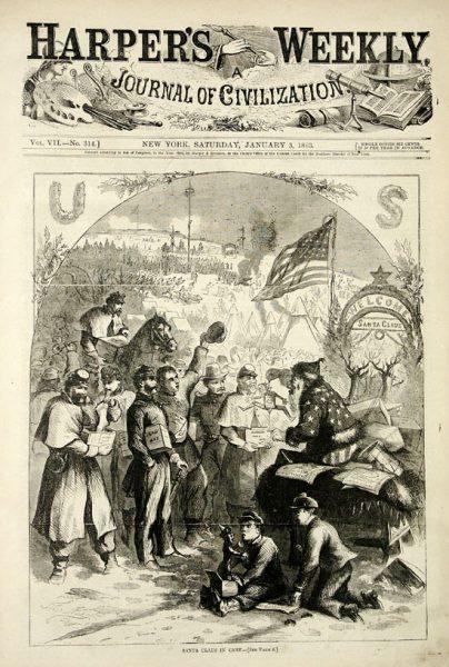 Papai Noel - Harper's Weekly 1863