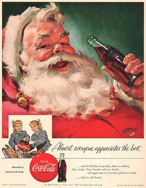5a2903888eda História do Papai Noel e a campanha da Coca-Cola no Natal ...